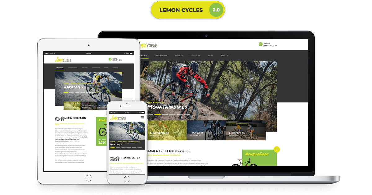 Relaunch Lemon Cycles